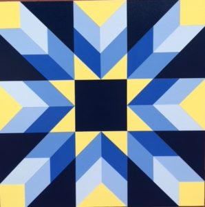 Barn quilt from Ohio Barn Quilts