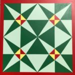 Crossed Canoes Barn Quilt